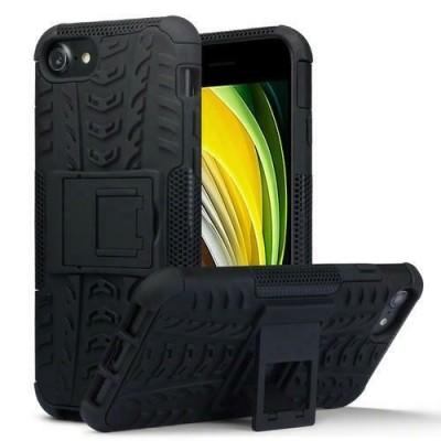 Terrapin Ανθεκτική Θήκη Dual Layer Rugged iPhone SE 2020 / 8 / 7 - Black (131-122-019)