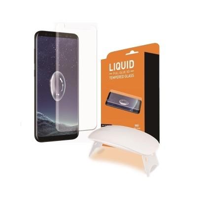 T-MAX Liquid Full Glue 3D Tempered Glass - Σύστημα προστασίας οθόνης Samsung Galaxy S9 Plus (200-108-033)
