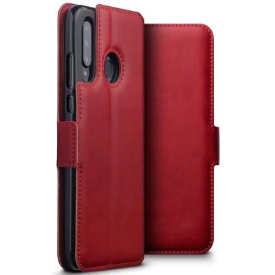 Terrapin Δερμάτινη Θήκη - Πορτοφόλι Huawei P30 lite - Red (117-083-226)