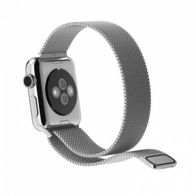 Milanese Loop Silver για Apple Watch 42mm