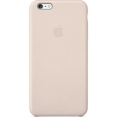 Official Apple Leather Case - Δερμάτινη Θήκη iPhone 6 Plus / 6s Plus - Black (MGQW2ZM/A)