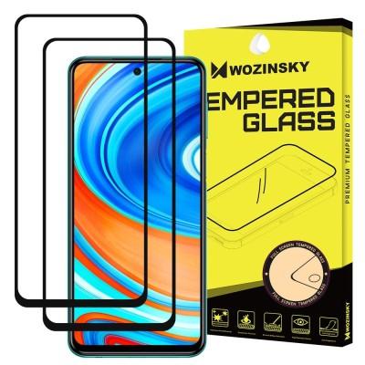 Wozinsky Full Cover Tempered Glass Full Glue Black για Xiaomi Redmi Note 9S (2pcs)  (200-107-599)