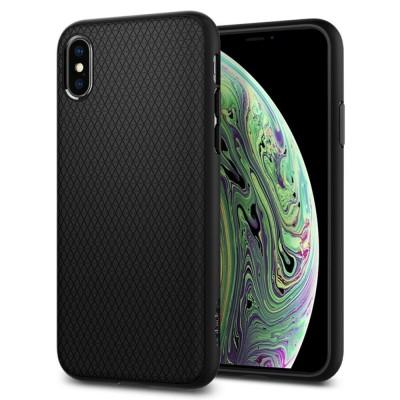 Spigen iPhone X / Xs Liquid Air Matte Black