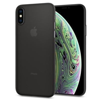 Spigen iPhone X / Xs Air Skin Black (063CS24910)