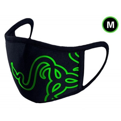 Razer CLOTH MASK GREEN - M Size Cottorn Face Mask