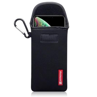 Shocksock Θήκη - Πουγκί iPhone XS Max - Black