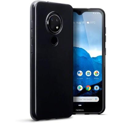 Terrapin Θήκη Σιλικόνης Nokia 6.2/7.2 - Black (118-001-298)