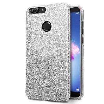 Shining Glitter Case για Huawei Y6 Prime 2018 - Silver (200-103-841)