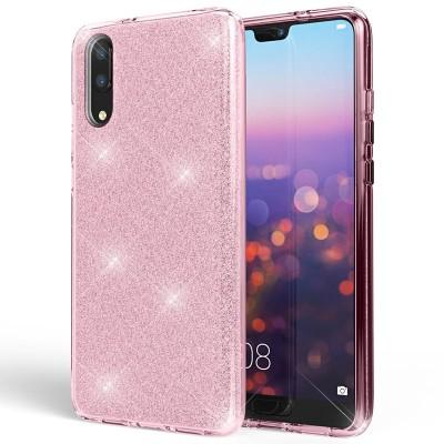 Shining Glitter Case για Huawei P20 - Pink (200-103-848)
