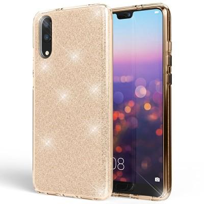 Shining Glitter Case για Huawei P20 - Gold (200-103-849)