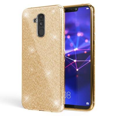 Shining Glitter Case για Huawei Mate 20 Lite - Gold (200-103-858)