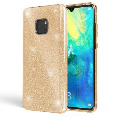 Shining Glitter Case για Huawei Mate 20  - Gold (200-103-864)