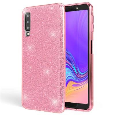 Shining Glitter Case για Samsung Galaxy A9 (2018) - Pink (200-103-867)