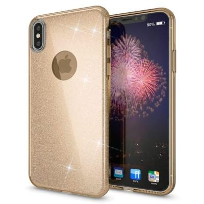 Shining Glitter Case για iPhone X/Xs Gold- OEM (200-103-885)