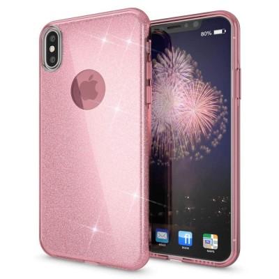 Shining Glitter Case για iPhone X/Xs Pink - OEM (200-103-886)