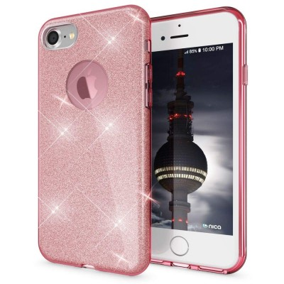 Shining Glitter Case για iPhone 6 Plus/6s Plus Pink - OEM (200-103-887)