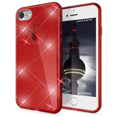 Shining Glitter Case για iPhone 6 Plus/6s Plus Red - OEM (200-103-888)