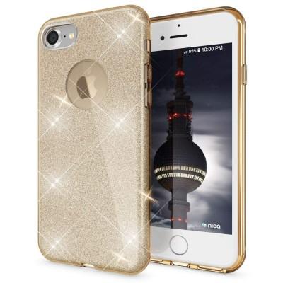 Shining Glitter Case για iPhone 6 Plus/6s Plus Gold- OEM (200-103-889)