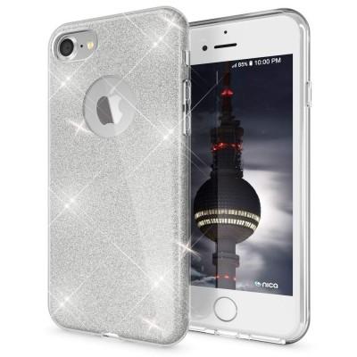 Shining Glitter Case για iPhone 6 Plus/6s Plus Silver- OEM (200-103-898)