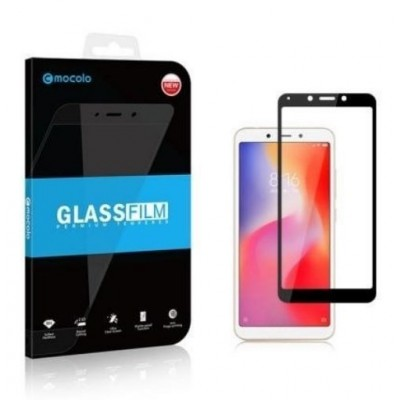 Mocolo Tempered Glass - Fullface Αντιχαρακτικό Γυαλί Samsung Galaxy A70 - Black (200-104-449)
