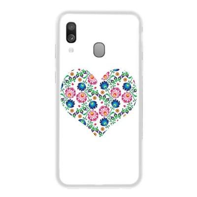 Θήκη Σιλικόνης για Samsung Galaxy A40 - Λευκή OEM (200-104-464)