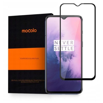 Mocolo Full Glue Full Face Curved Black Αντιχαρακτικό Γυαλί 9H Tempered Glass OnePlus 7T - (200-104-670)