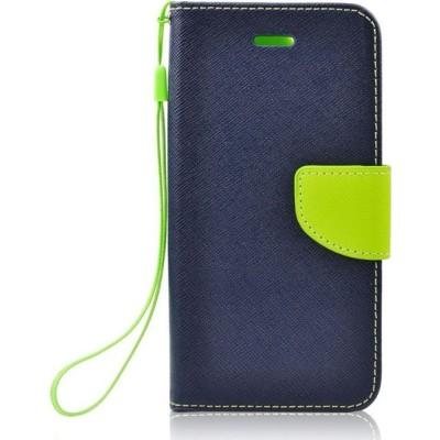 iS Θήκη - Πορτοφόλι για Huawei Y7 2019 Fancy - Blue Lime (200-104-756)