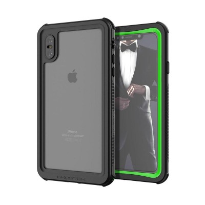 Ghostek Nautical 2 Αδιάβροχη Θήκη iPhone XS Max - Green (200-105-497)