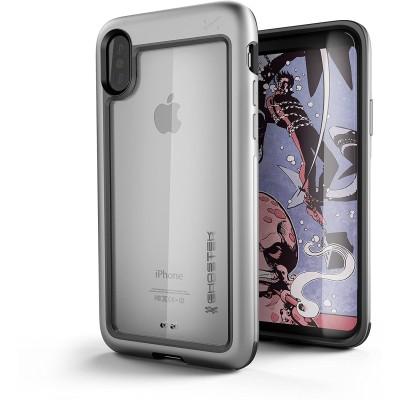 Ghostek Atomic Slim Θήκη iPhone X/XS - Silver (200-105-518)