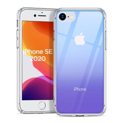ESR iPhone 7/8/SE (2020) Ice Shield Glass Case Blue Purple - (200-105-524)