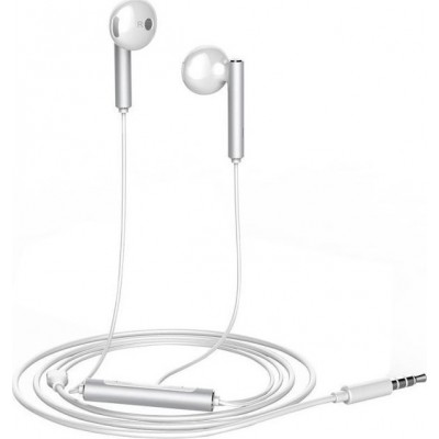 Handsfree Huawei AM116 Λευκό Metal White (200-105-552)