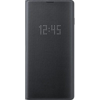 Official Samsung Led View Cover Samsung Galaxy S10 - Black (200-105-946)