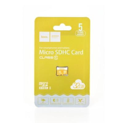 Κάρτα Μνήμης Hoco TF High Speed Memory 32GB Class 10 (USB 3.0) - (200-106-061)