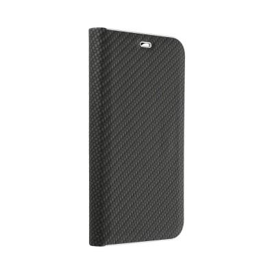 Luna Carbon Θήκη - Πορτοφόλι για Huawei Y7 2019 - OEM Black (200-106-070)