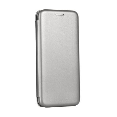 OEM Book Elegance Case Silver Huawei Y7 2019 - (200-106-071)