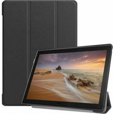 Tactical Book Tri Fold Case for Samsung Galaxy Tab S4 10.5  Black (200-106-098)