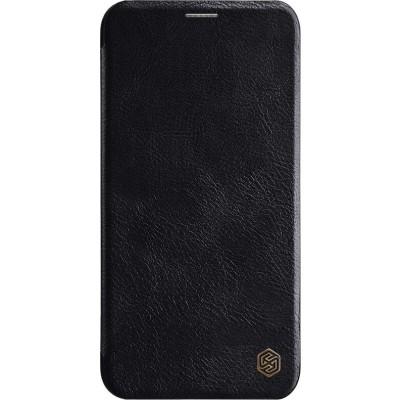 Δερμάτινη θήκη-πορτοφόλι QIN Leather by Nillkin Μαύρη για iPhone 11 Pro Max - (200-106-101)