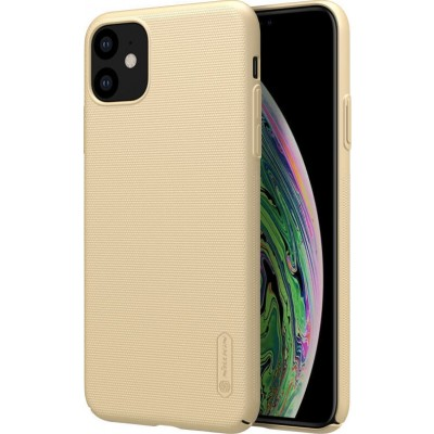 Nillkin Super Frosted Back Cover Gold για το iPhone 11 (200-106-102)