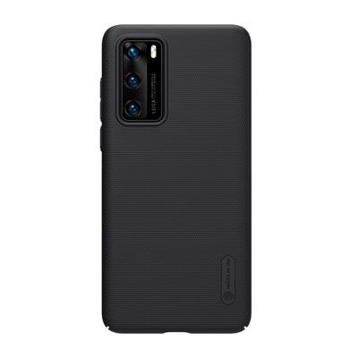 Nillkin Super Frosted Back Cover Black για το Huawei P40 (200-106-104)
