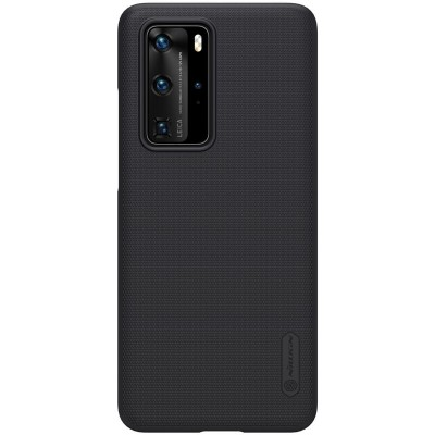 Nillkin Super Frosted Back Cover Black για το Huawei P40 Pro (200-106-106)