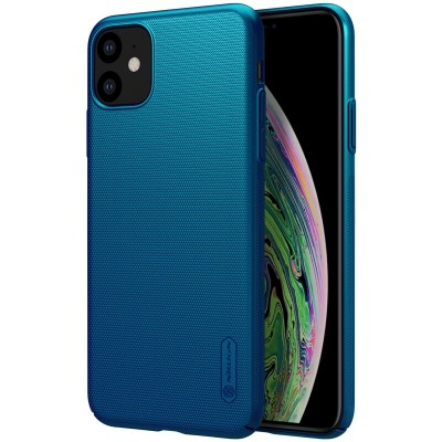 Nillkin Super Frosted Back Cover για το iPhone 11 Peacock Blue (200-106-113)