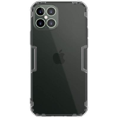 Nillkin Θήκη Σιλικόνης iPhone 12 Pro Max Grey/Clear (200-106-123)