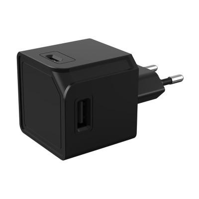 PowerCube Allocacoc - USB Cube Original Πολύμπριζο 4 Θέσεων USB-A  Black  (200-106-136)