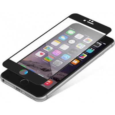 Zagg InvisibleShield Full Face Tempered Glass iPhone 6 / 6s Black (200-106-195)