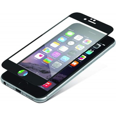 Zagg InvisibleSHIELD Full Face Tempered Glass iPhone 6 / 6S Plus Black (200-106-202)