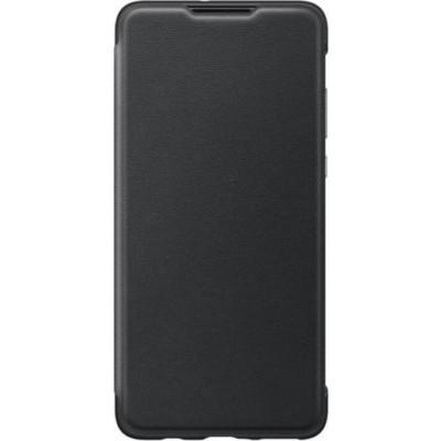 Official Wallet Cover - Θήκη Huawei P30 Lite - Black (200-106-950)