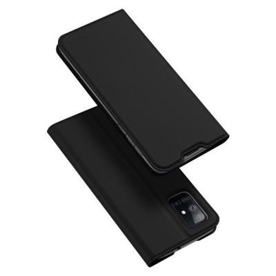 Duxducis Θήκη - Πορτοφόλι Samsung Galaxy M51 - Black (200-107-129)