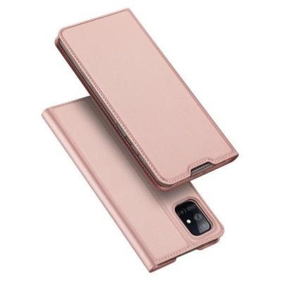 Duxducis Θήκη - Πορτοφόλι Samsung Galaxy M51 - Pink (200-107-130)