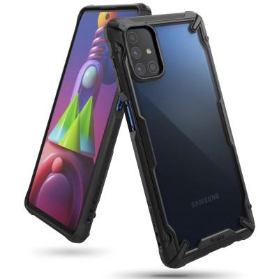 Ringke Fusion-X Θήκη Samsung Galaxy M51 - Black (200-107-150)