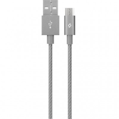 Ttec AlumiCable™ Micro USB Καλώδιο Charge/Data 1.2m Grey (200-107-164)